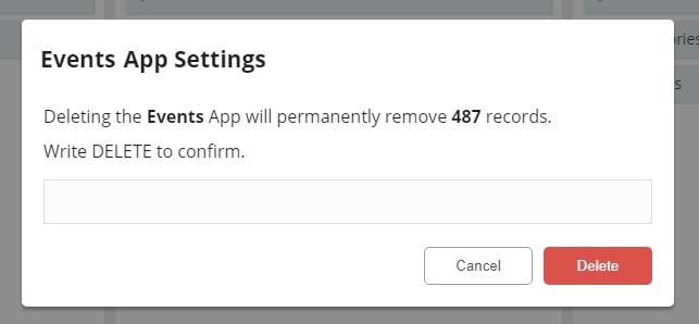 App Delete Confirm