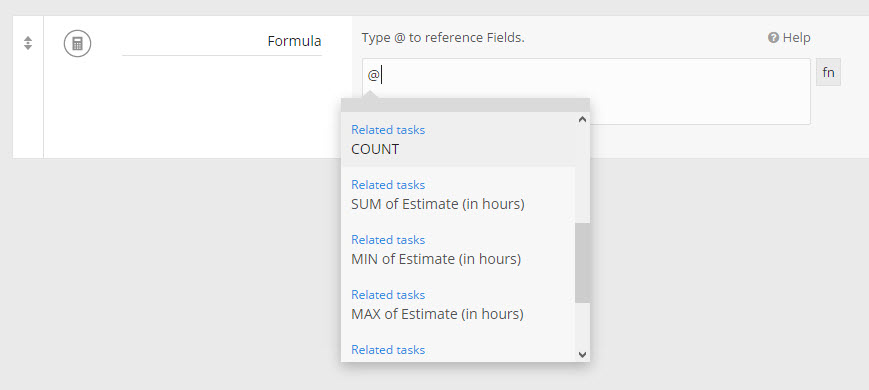 Formula Related App Fields
