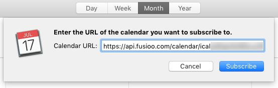 apple calendar url