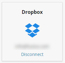 disconnect dropbox