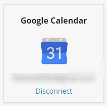 disconnect google calendar
