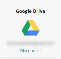 disconnect google drive