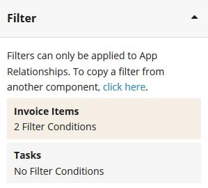 Formula filter