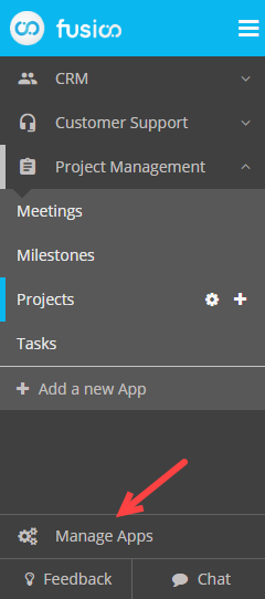 Manage Apps