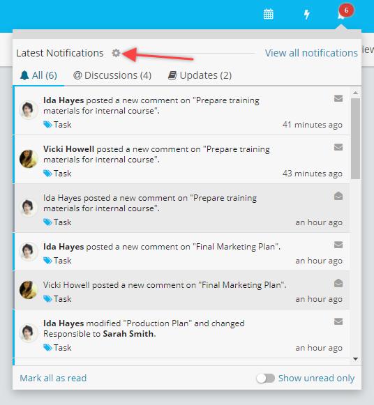 notification settings icon