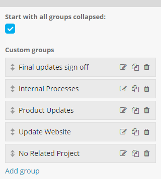 Custom Groups