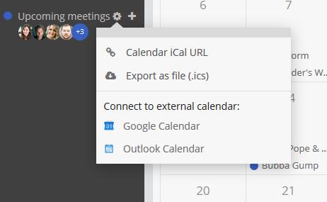 Calendar Integrations